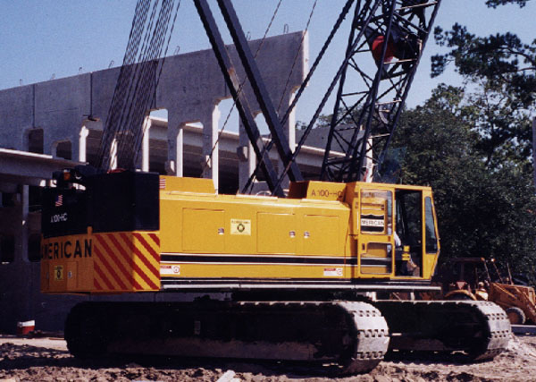 Picture of crane body built by IFG.